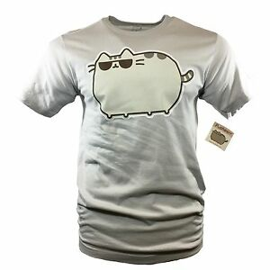 NWT-PUSHEEN-Men-039-s-T-shirt-Cool-Cat