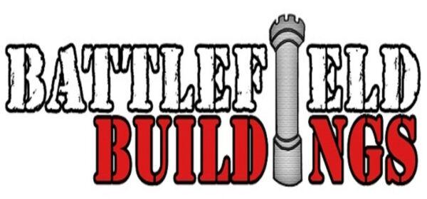 10/12 Mm Battlefield Buildings - Dipinto Giochi Di Guerra Terreno -