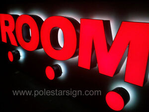 Details About Customized Led Lighting Sign Letters Business Logos Signage Channel