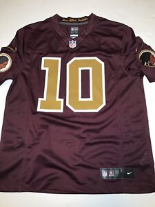 big sale 908fb 7ace0 Details about NEW! Washington Redskins Alternate Game Jersey LRG #10 Nike  On Field NWT