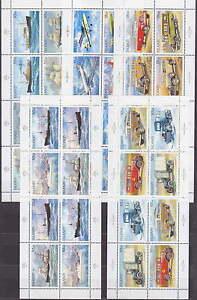 ICELAND-ISLAND-5x-MOTIVE-SHEETS-1991-1992-1995-1996-1997-MNH