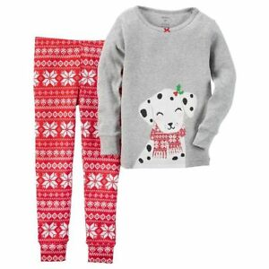 6f2d1f441733 NWT Carter s 12 Months Fair Isle Dalmatian Dog Top 2 PC Set Snug Fit ...