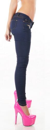 XS//S//M//L//XL Women/'s Zip Stretch Jegging Pant