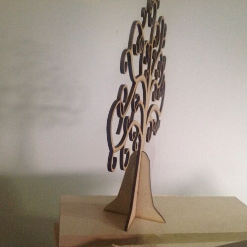 Wooden Family Tree Buy 2 Get 3rd Free 25cm X 25cm