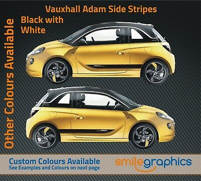 Vauxhall Adam Stripe Kit Stickers Decals Other Colours Available Ebay