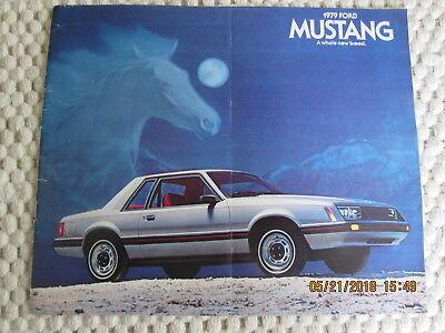 1981 Ford MUSTANG Brochure//Pamphlet//Flyer:COBRA,GHIA,