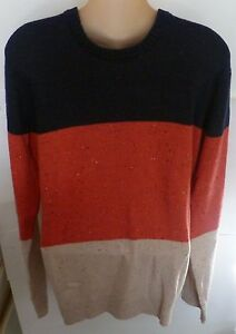 Mens-AEROPOSTALE-Colorblocked-Crew-Neck-Crewneck-Sweater-size-M-NWT-4344