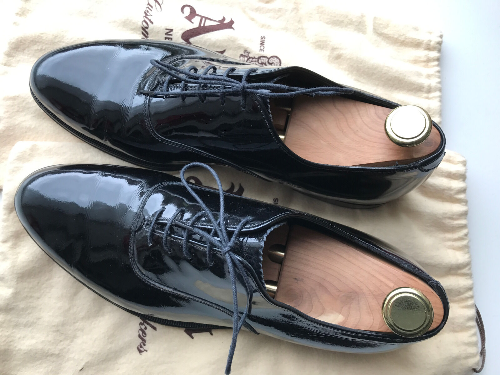 fino al 60% di sconto Alden Plain Plain Plain Toe Bal Oxford (Lace-Up Leather nero Calfskin)  US 10 C E (9309)  in linea