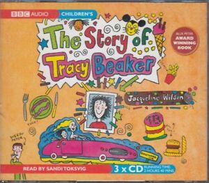 The-Story-of-Tracy-Beaker-Jacqueline-Wilson-3CD-Audio-Book-Unabridged-FASTPOST