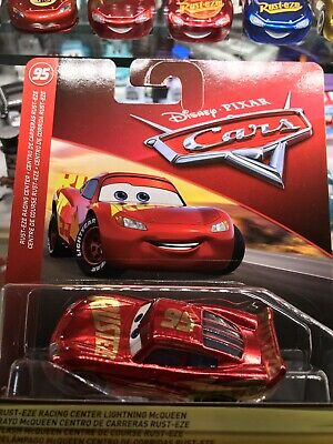 Disney Pixar Cars 3 Lightning Mcqueen Rust Eze Racing Center