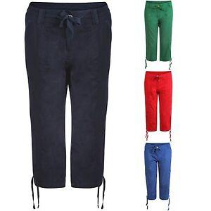 Femmes Defecto Coton Cargo Combat 3/4 Short Femmes Militaire Pantalon