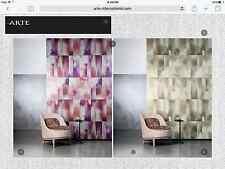 "13yd ARTE INTL ""Mercury"" Alchemy Collection Wallpaper Passion 25044 $2495 Retail"