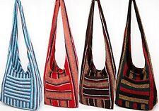 #883 Hippie Bag Cross-Body Baja Sling Bag Tote Classic Jacket Fabric Men Women