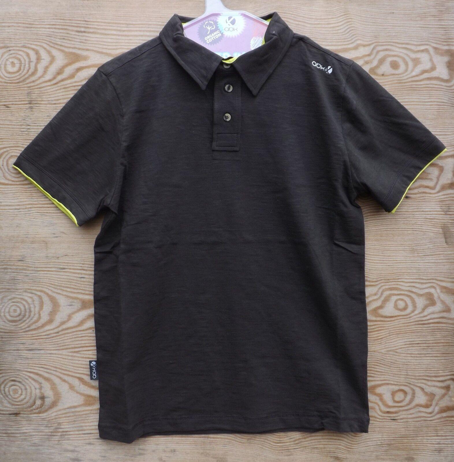 Ny rope polo t-shirt,, talla  s, suave señores t-shirt, Coffee  buena reputación