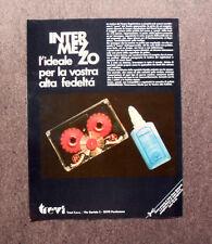 [GCG] M425 - Advertising Pubblicità - 1983 - INTERMEZZO TREVI CLEANING REC.