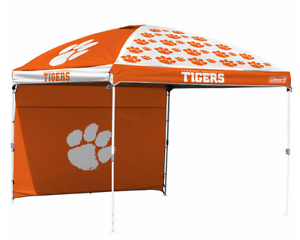 Clemson Tigers NCAA 10'  x 10' Dome Tailgate Party Canopy Tent Logo Wall Bag New  shop clearance