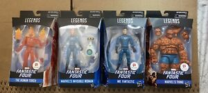 Marvel Legends Fantastic Four Walgreen's Exclusive Set Thing Mr. Invisible Torch