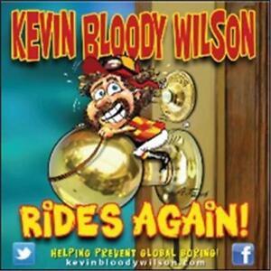 KEVIN-BLOODY-WILSON-Rides-Again-CD-BRAND-NEW-Australian-Comedy-Digipak