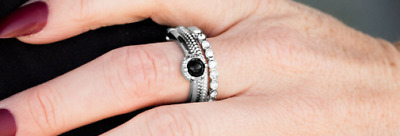 """NEW PAPARAZZI /""""STAR RAVING MAD!/"""" SILVER RING"""