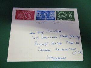 England-Grossbritannien-Nr-299-301-aus-1957-Brief-Pfadfinder