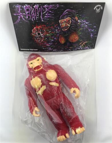 Bigfoot Red Version Sofubi SOFT Vinyle Kaiju Figure by ITOYO X génial Jouet