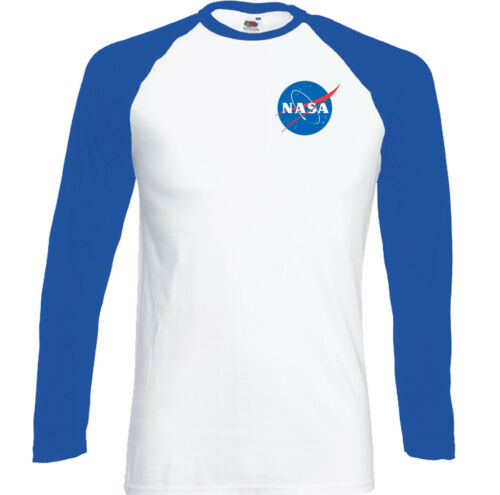 Nasa Logo Camiseta Retro Espacio Sheldon Cooper Big Bang Theory Pecho Estampado