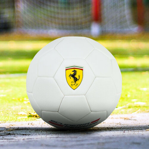 ⚽️Official @Scuderia xFerrari Football Soccer Ball Sports Size 5 White Balls