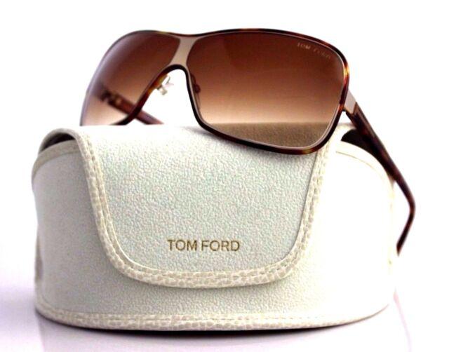 60d0026dff RARE New Authentic TOM FORD Alexei Light Havana Sunglasses TF 116 FT 0116  29F