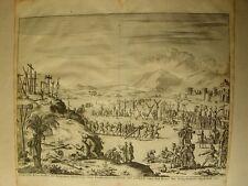 «d' Aal-oude Kruis-strassen der Romeinem ..... publicado por Wilhems Goeree en 1