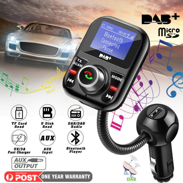 Auto Bluetooth Fast Charging Car Digital Audio Broadcast Adapter FM Transmitter