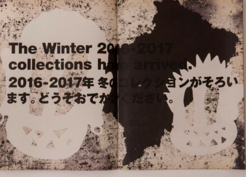 RENE BURRI COMME des GARCONS 2016 Booklet Flyer Art Paper Poster Rei Kawakubo