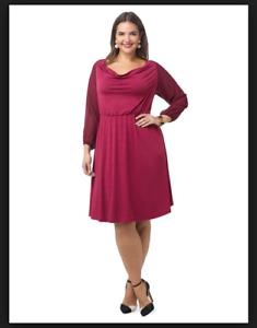 Details about NEW IGIGI MULBERRY SOLEIL BLOUSON DRESS PLUS SIZE 18/20