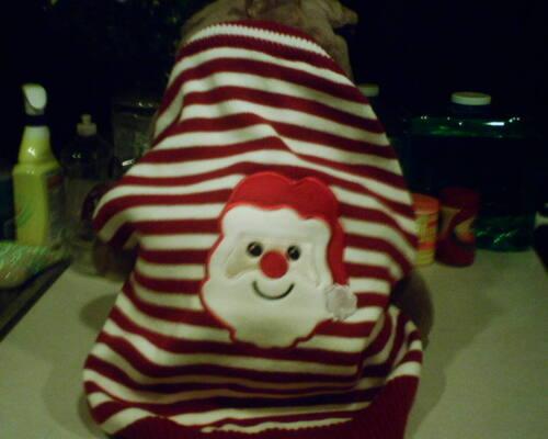 DOG SWEATER Santa XX Large nwt SALE BENEFITS CHARITY