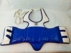 Martial Arts Tae Kwon Do Reversible Chest Pad Child Size