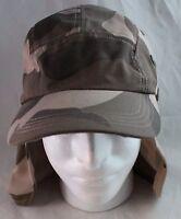 Desert Camo Cap Long Neck Flap Hat Adjustable Cotton