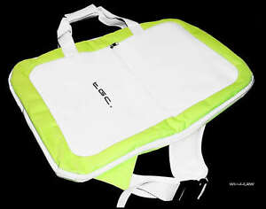 Nintendo-Wii-Fit-Balance-Board-Green-amp-White-Case-Bag-by-TGC