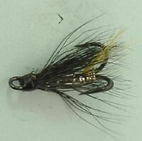 4 SILVER STOATS TAIL SALMON FLY TREBLES