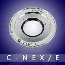 【Yeenon】C Mount to Sony NEX E Mount Adapter (can adjust the midline position)