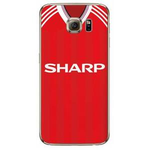 official photos 3a79e 460a8 Details about Man Utd Retro Kit Shirt For Samsung S7 S8 S9 Phone Cover Case  Manchester United