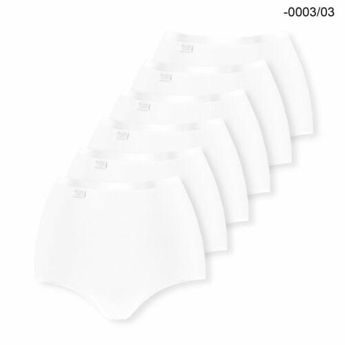 38 40 42 44 46 48 Farbwahl 6er Pack sloggi Feel Natural Maxi Slip Slips Gr