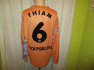 VfL-Wolfsburg-Puma-Langarm-Matchworn-Trikot-2002-03-034-VW-034-Nr-6-Thiam-Gr-XXL