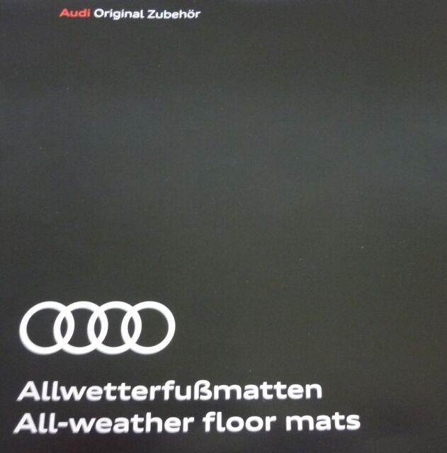 Noir Set de 2 Audi 8V5061502041 Tapis de Sol Avant