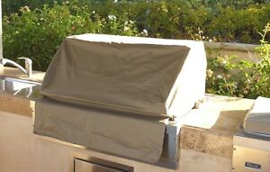 """Built-In BBQ grill cover up to 36"""" Taupe color"""