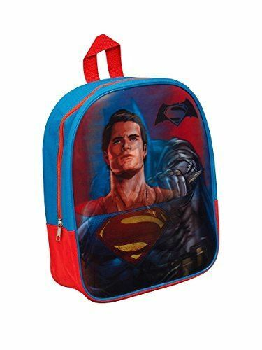 Superhero Batman VS Superman School Bag Rucksack Backpack Nursery Lenticular  for sale online  844b84071bd88