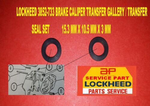 3852-733 LOCKHEED BRAKE CALIPER TRANSFER GALLERY SEALS