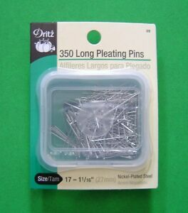Dritz 8S 350 Piece Sequin//Lills Pins 1//2