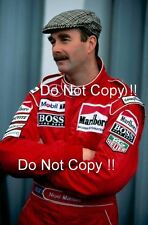 Nigel Mansell McLaren F1 Portrait 1995 Photograph 1
