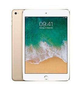 Apple Ipad Mini 4th Gen 16gb Gold Wifi Only Rare Ios 10 10 3 1 Excellent 888462367530 Ebay