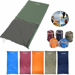 Lightweight-Sleeping-Bag-Camping-Backpacking-Compact-Travel-Hiking-Outdoor-US-SS