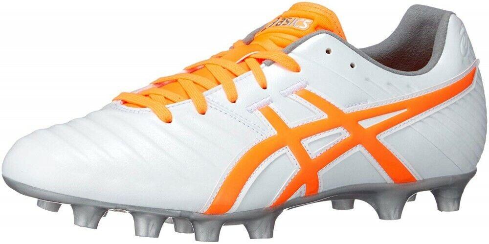 NEW ASICS Soccer Football Spike scarpe DS Light 3Wide TSI751 bianca US11.5  29cm